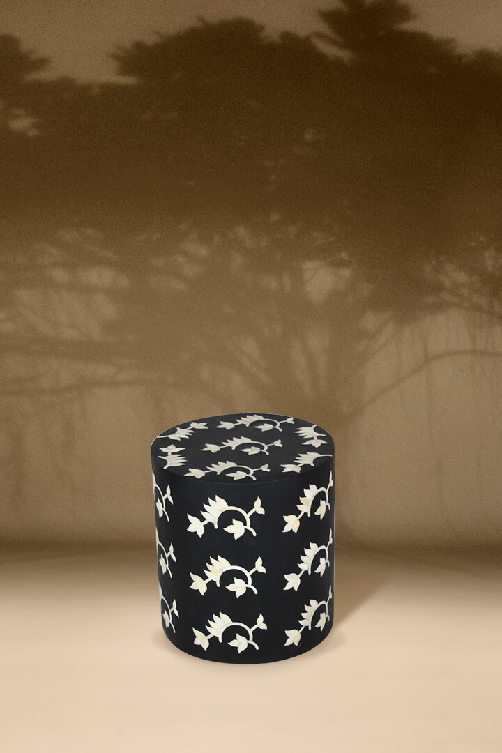 Layla Inlay Stool